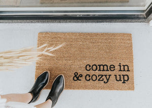 DIY Autumn Door Mat
