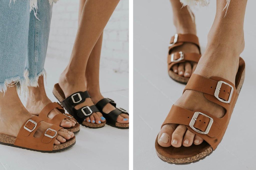 Casual Sandals - Buckle Sandals