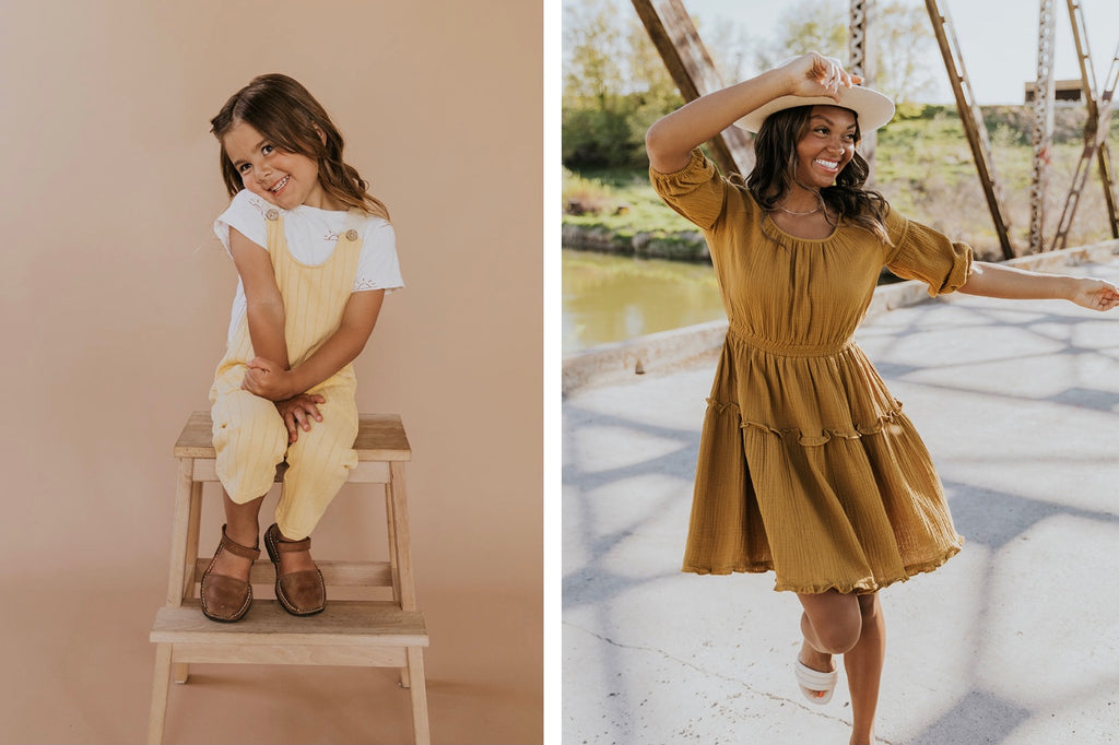 Family Pictures Mommy-Daughter Outfit Ideas