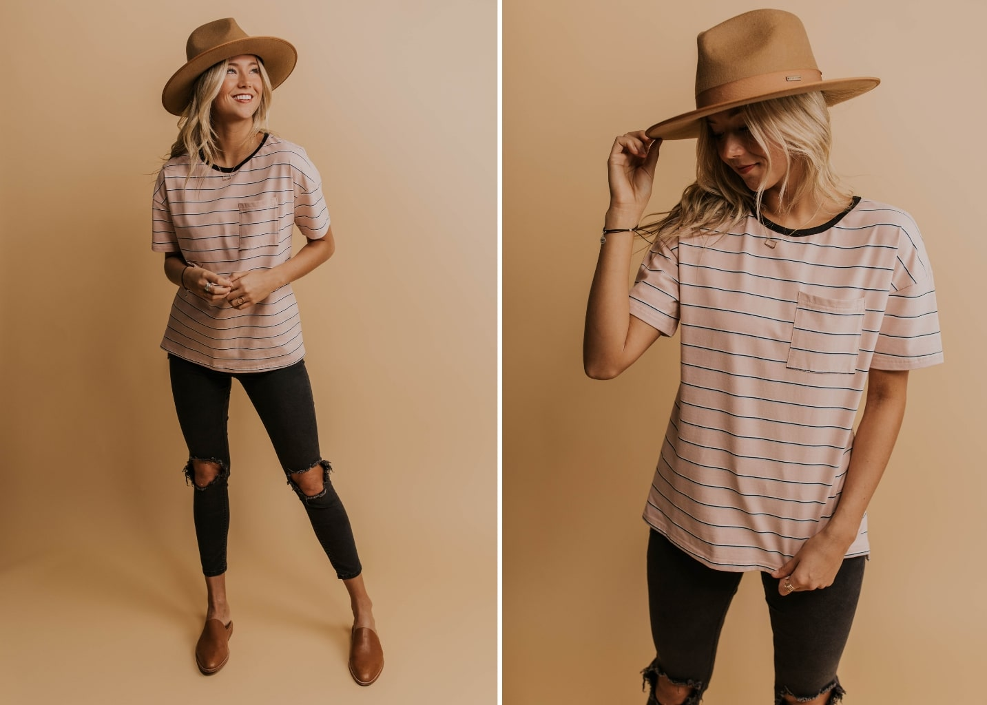 How To Style Striped Tees For Spring