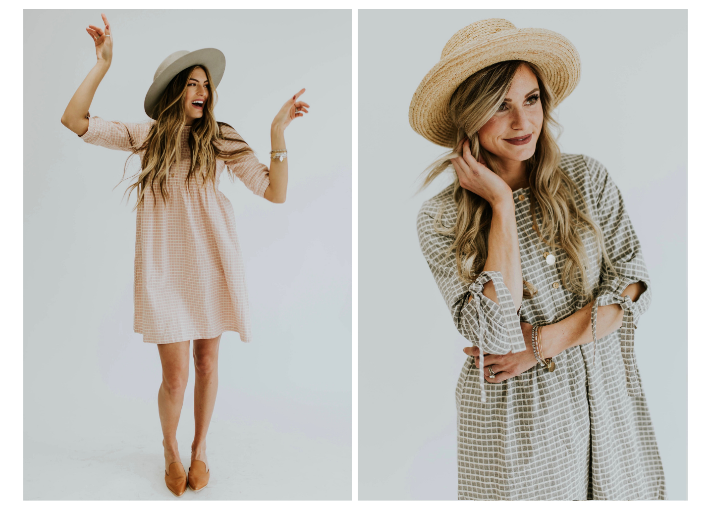 Sanders Plaid Dress | ROOLEE
