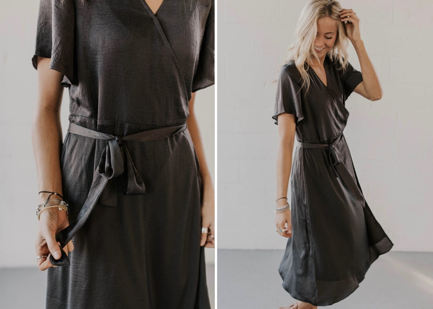 Tidal Wrap Dress