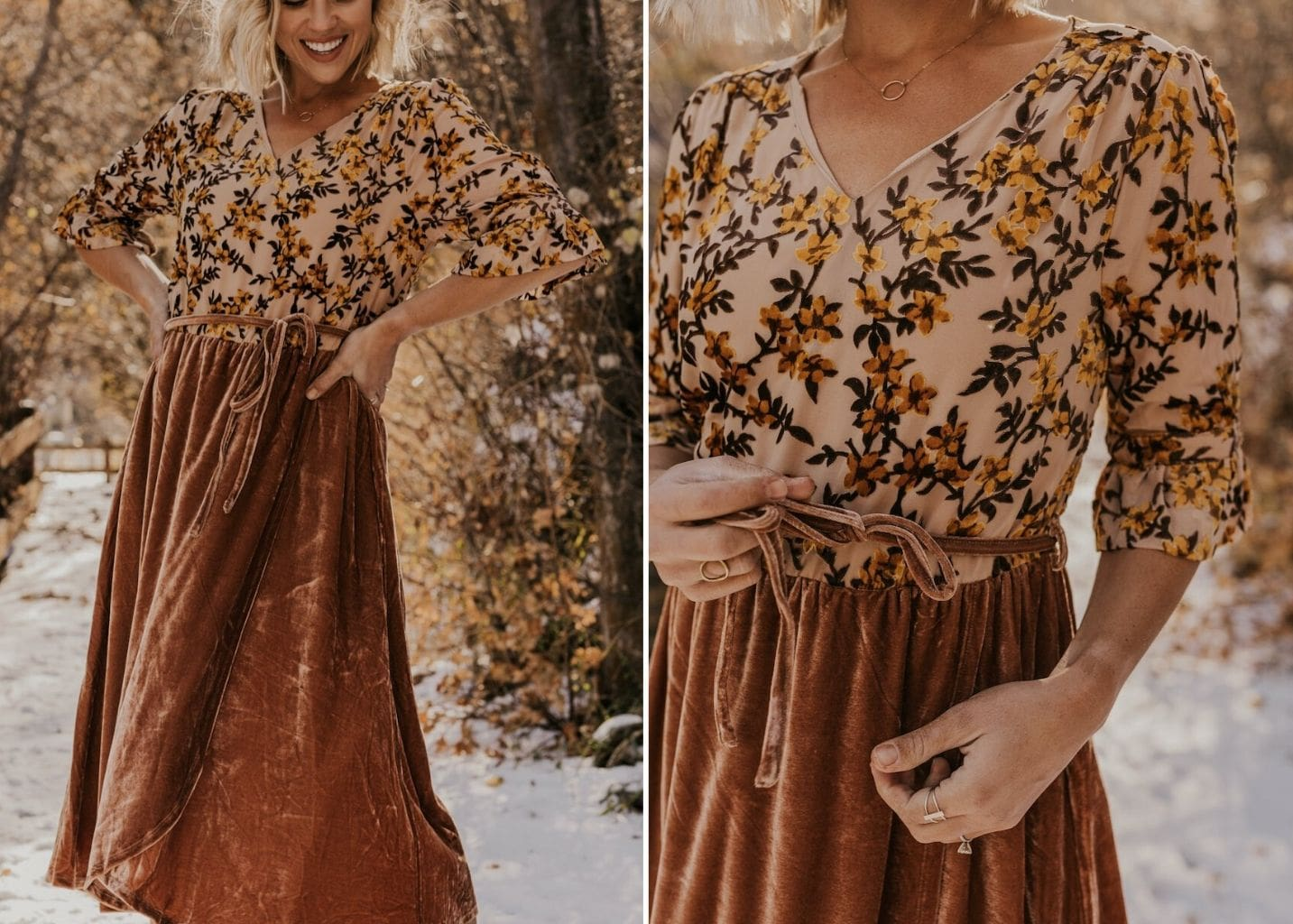 Modest Holiday Party Dress Ideas
