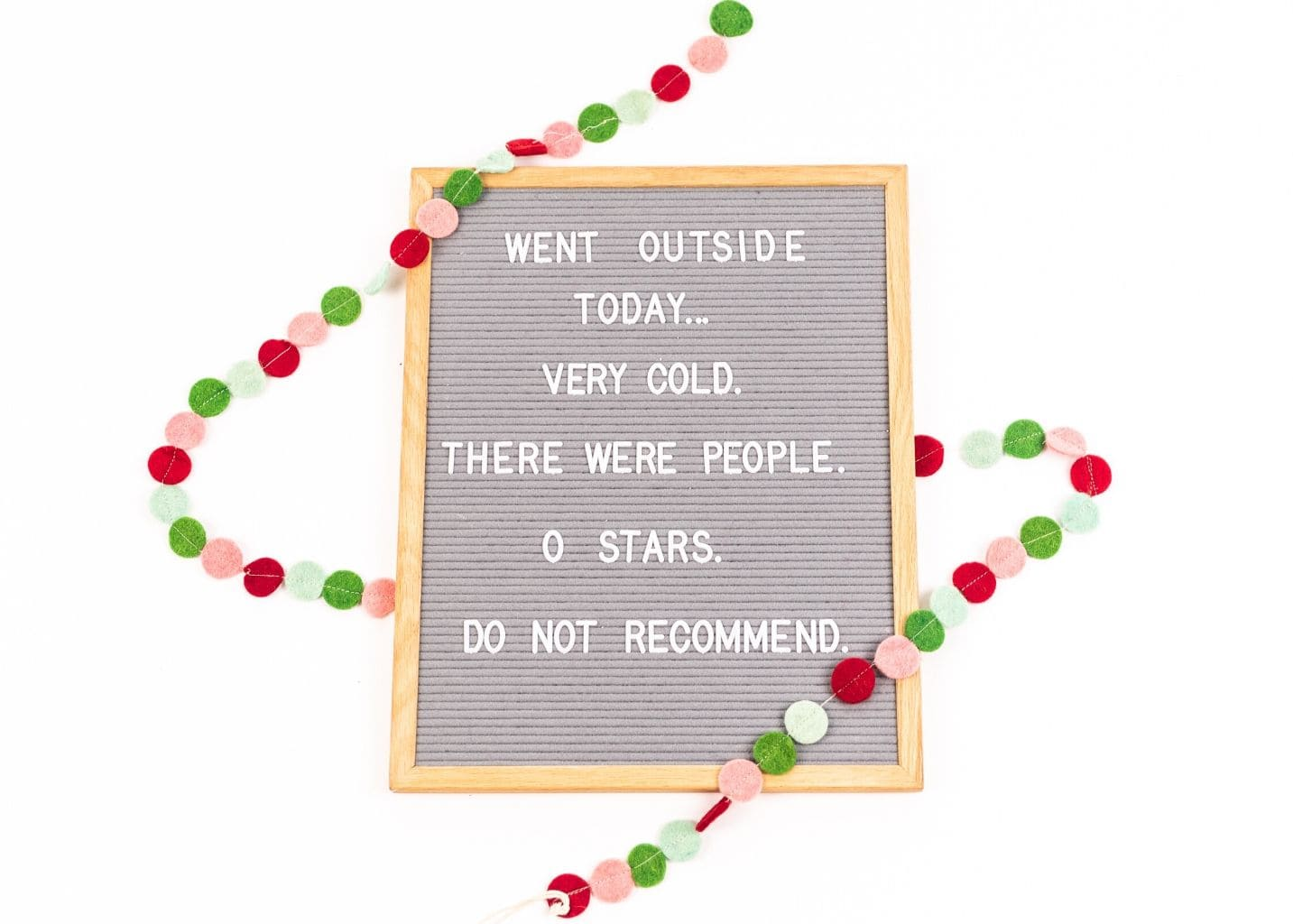 Christmas Letter Board Quotes