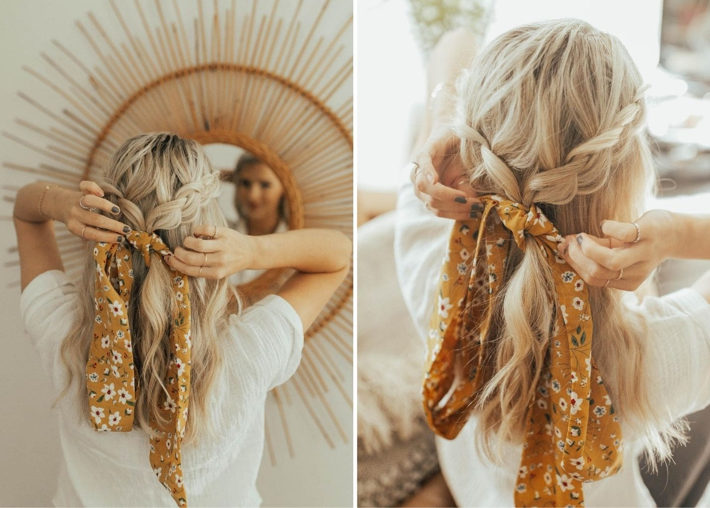 3 Easy Summer Hairstyles Josie Balka