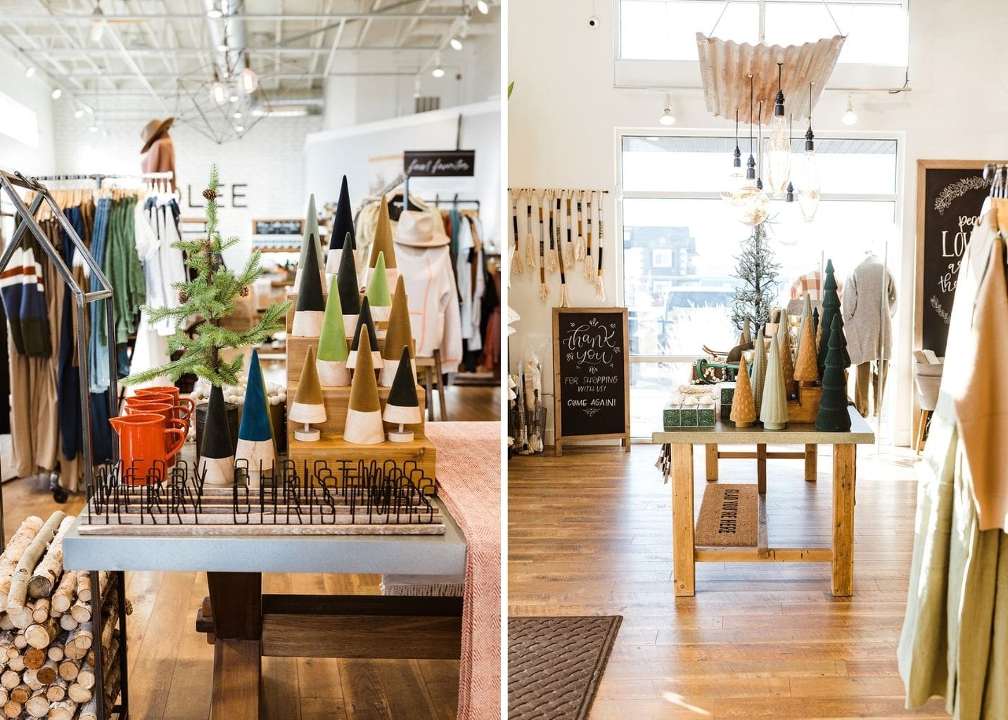 ROOLEE holiday store tour Christmas retail
