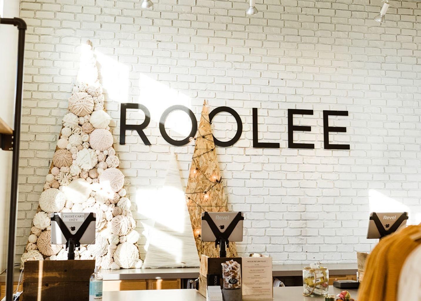 Retail Holiday Store Tour ROOLEE Christmas