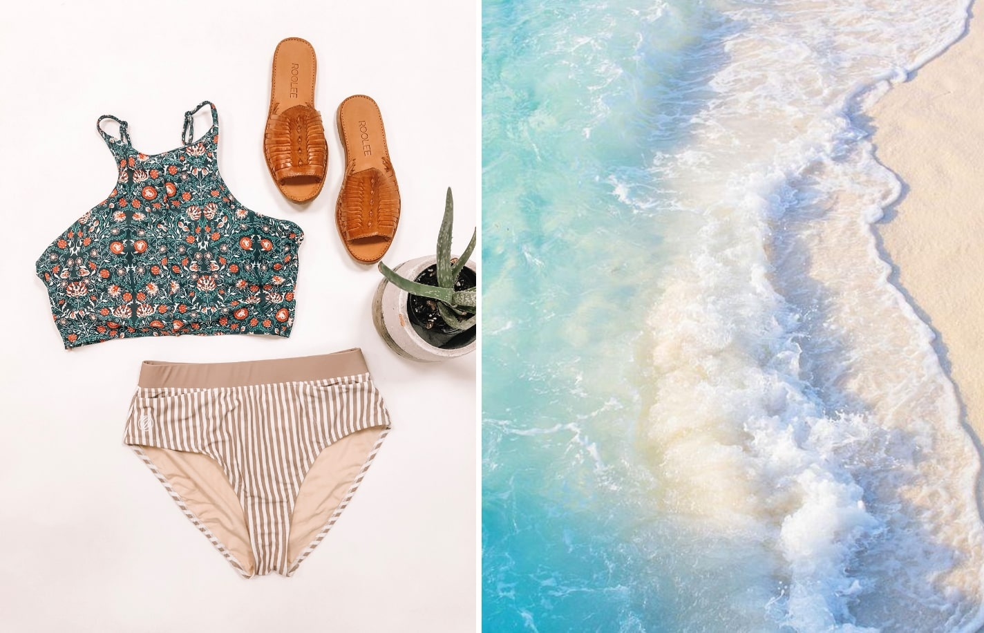 The Best Swimsuit For Laying On The Beach
