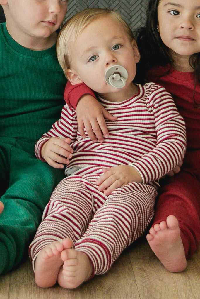 Cute kids Christmas pajama set | ROOLEE