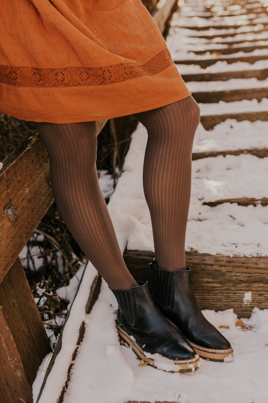 Ribbed Tights | ROOLEE