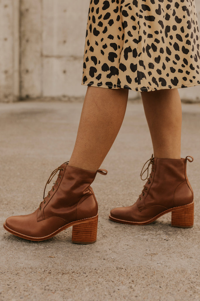 Leather Boots | ROOLEE