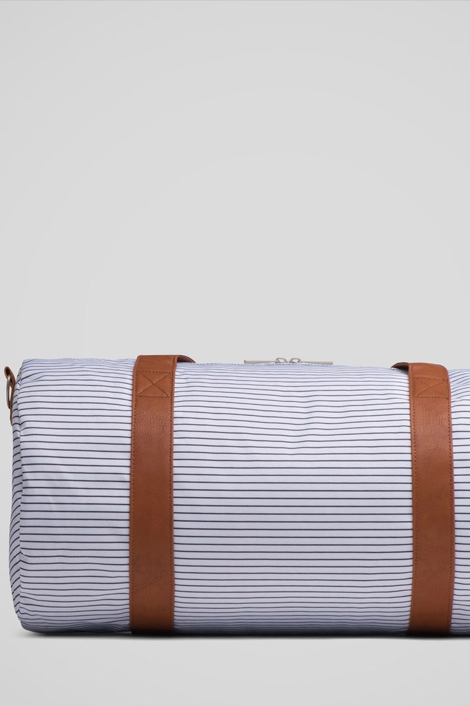 ROOLEE Pinstripe Barrel Bag