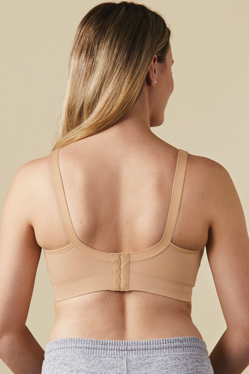 Nude Maternity Friendly Nursing Bra | ROOLEE