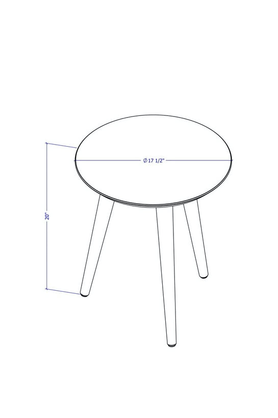 Bayard Round End Table