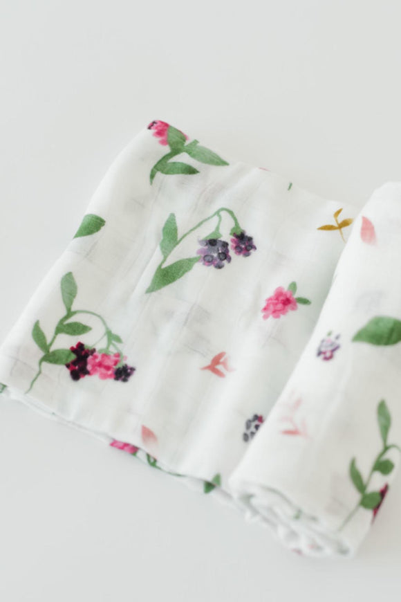 Berry Patch Swaddle