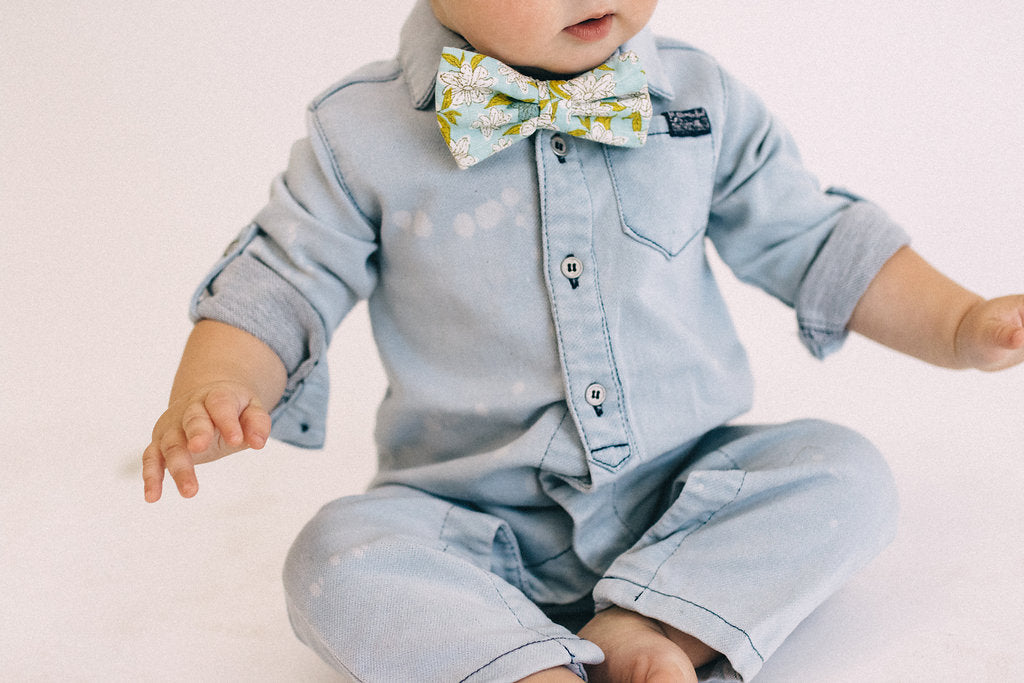 Denim Baby Coverall | ROOLEE