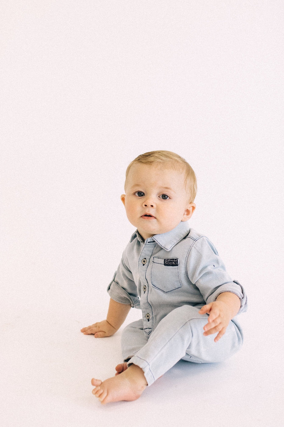 Louis Denim Coverall | ROOLEE Kids
