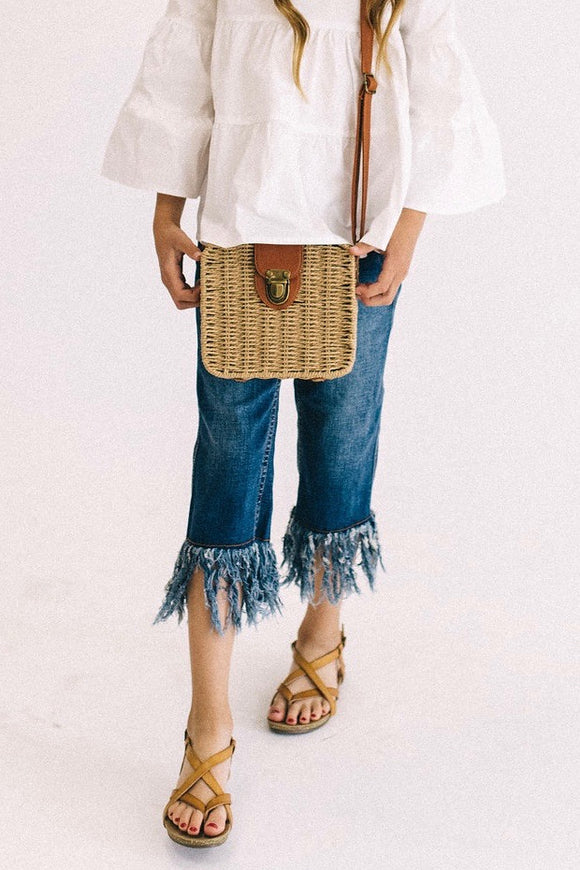 Riley Fray Jeans | ROOLEE Kids