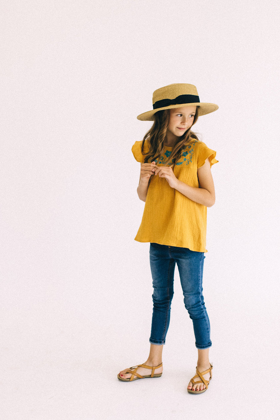 Classic Denim Pants For Kids | ROOLEE Kids