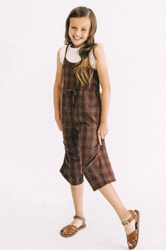 Merida Plaid Jumpsuit | ROOLEE Kids