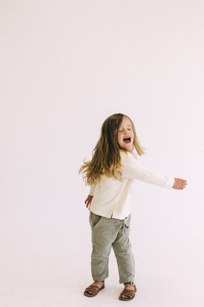 Drawstring Elastic Waist Bottoms | ROOLEE Kids