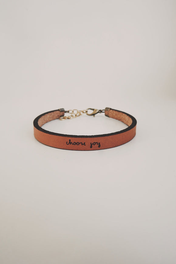 choose-joy-leather-bracelet