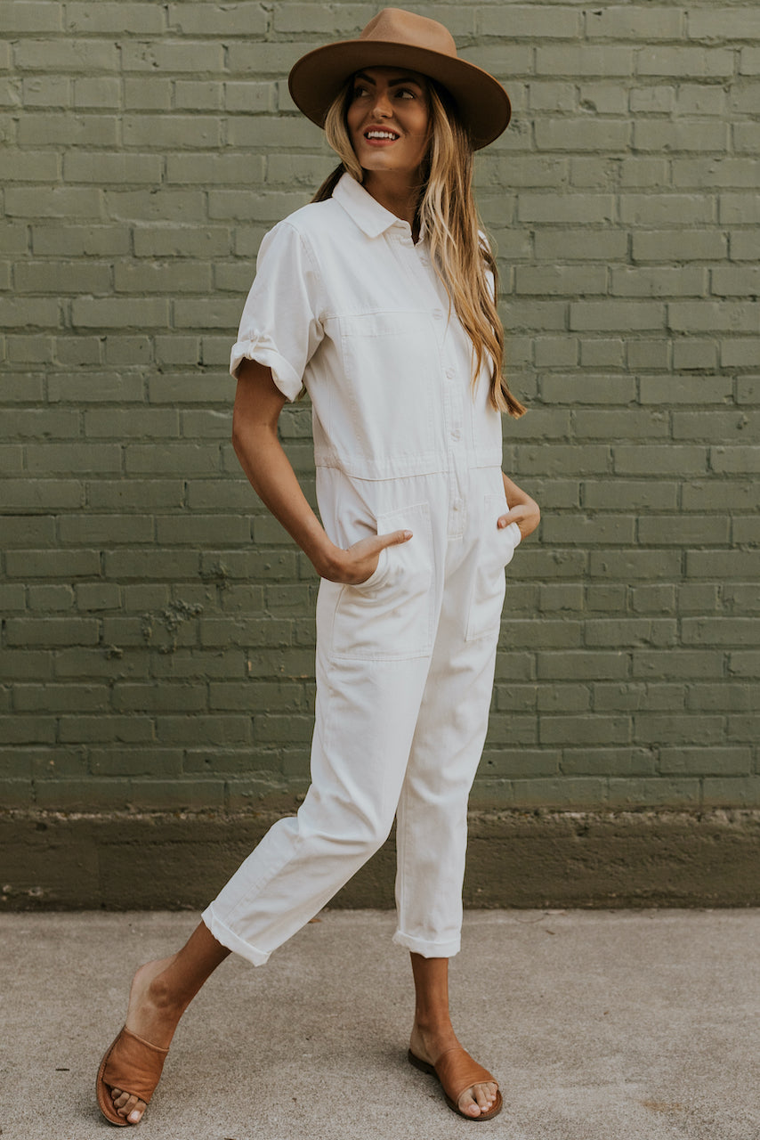 summer jumpsuit outfit ideas | ROOLEE