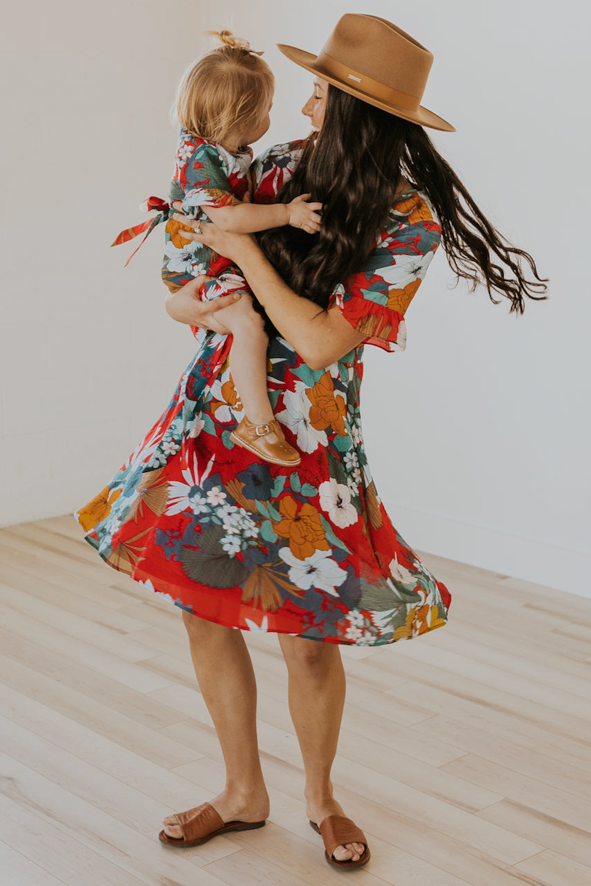 The Mini Bahamas Floral Dress