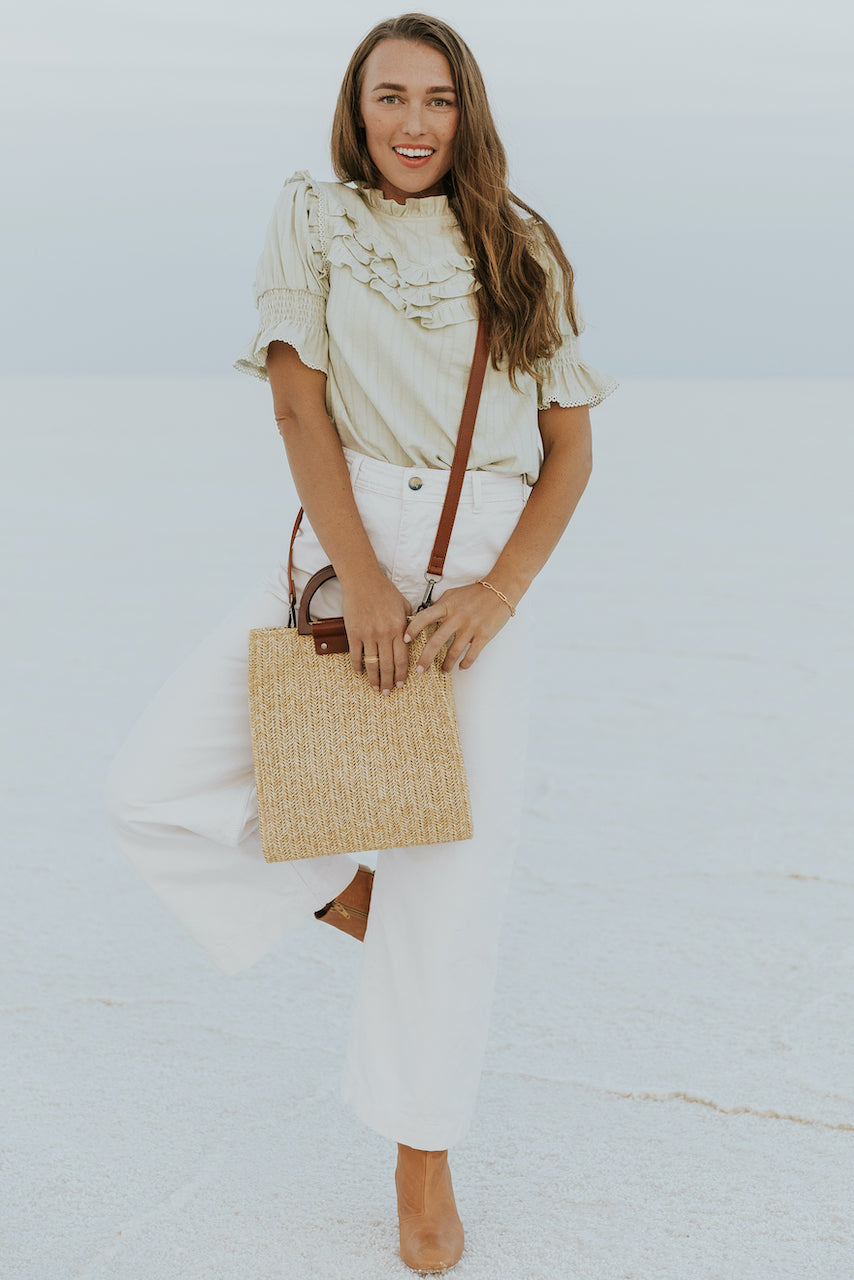 Neutral business casual wear | ROOLEE