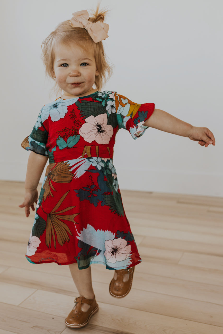 Floral Dresses for Kids | ROOLEE