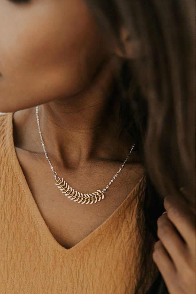 Minimal necklace | ROOLEE