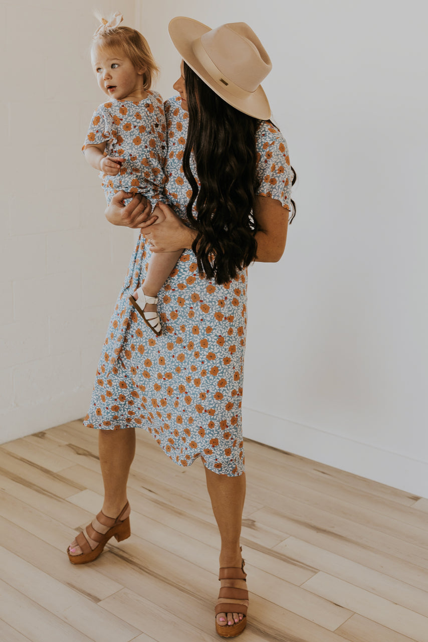 Mini Desert Flower Dress