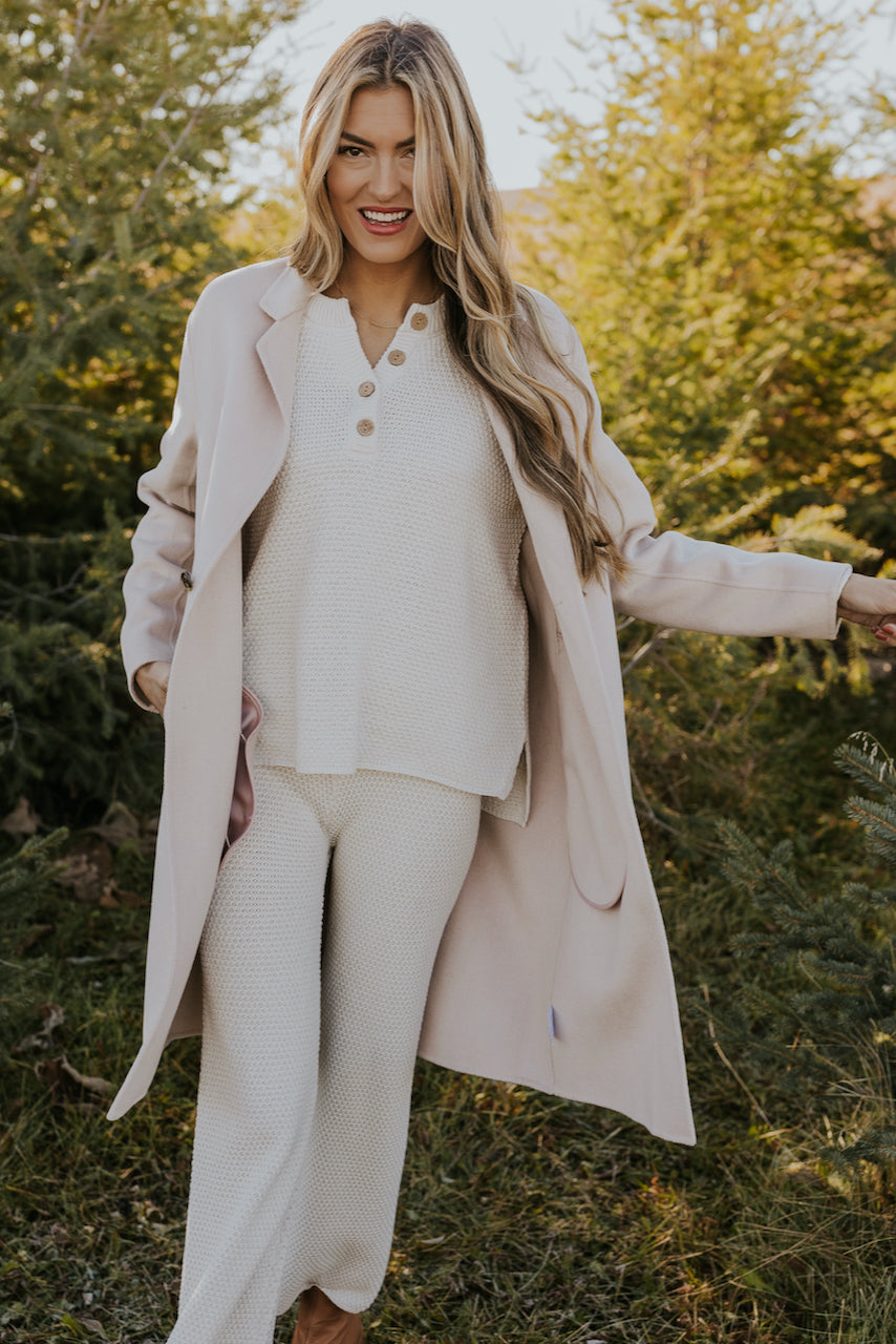 Button Front Winter Coat | ROOLEE