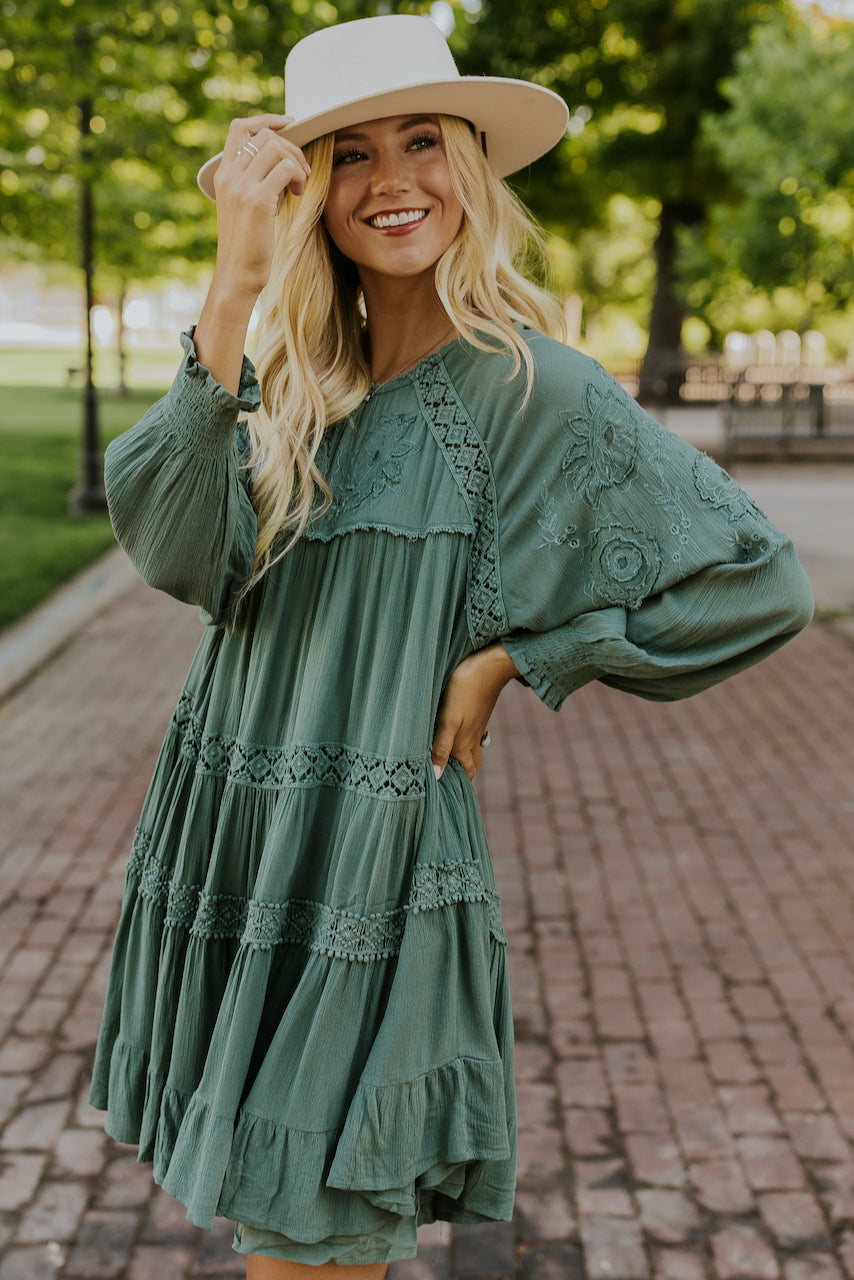 Free People Piece of Your Heart Dress