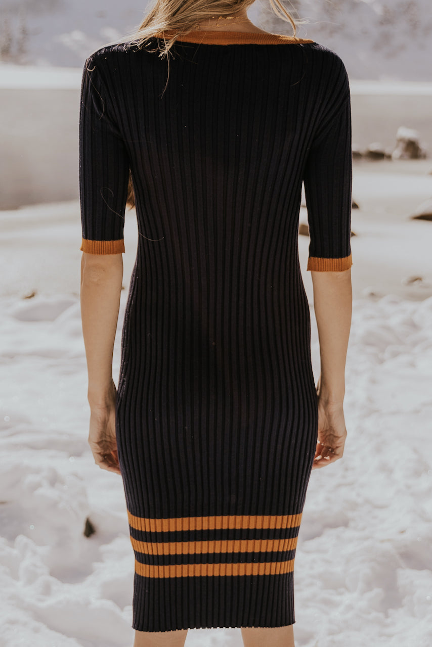 Knitted Midi Dress | ROOLEE