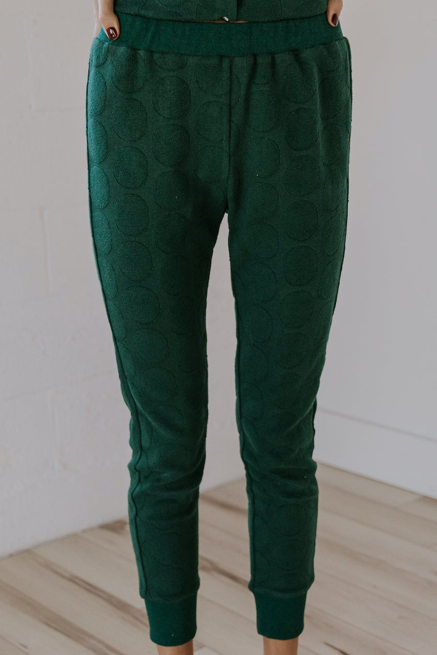 Green button front matching pajama set | ROOLEE