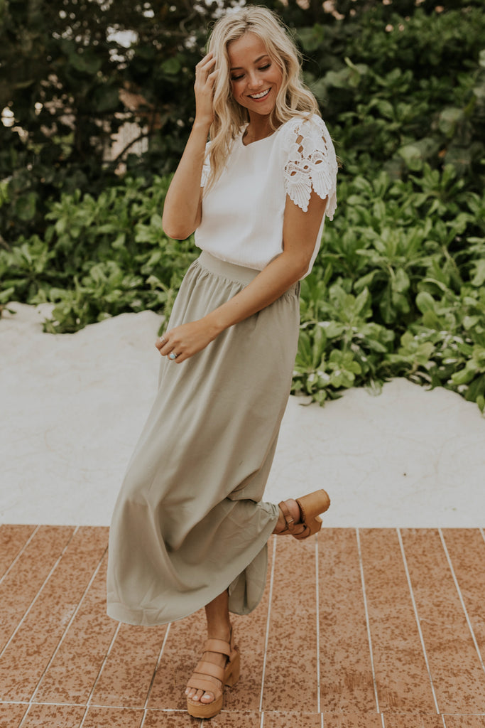 Bridesmaid skirt and top | ROOLEE