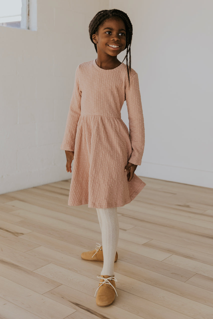 Girls Long Sleeve Dress | ROOLEE