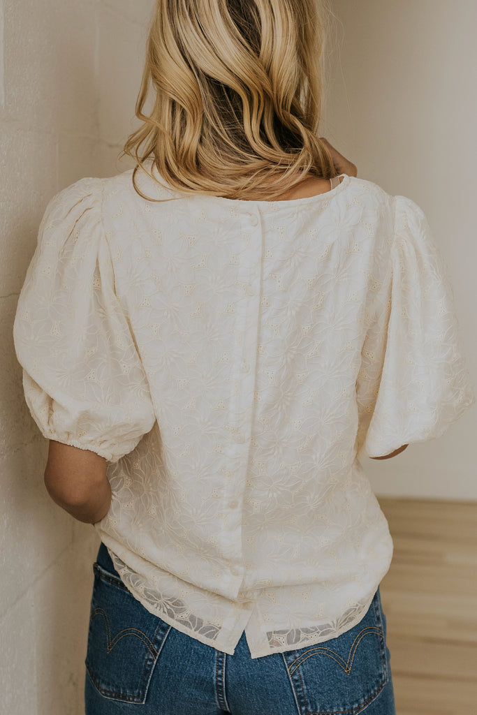 Balloon Sleeve Blouse | ROOLEE