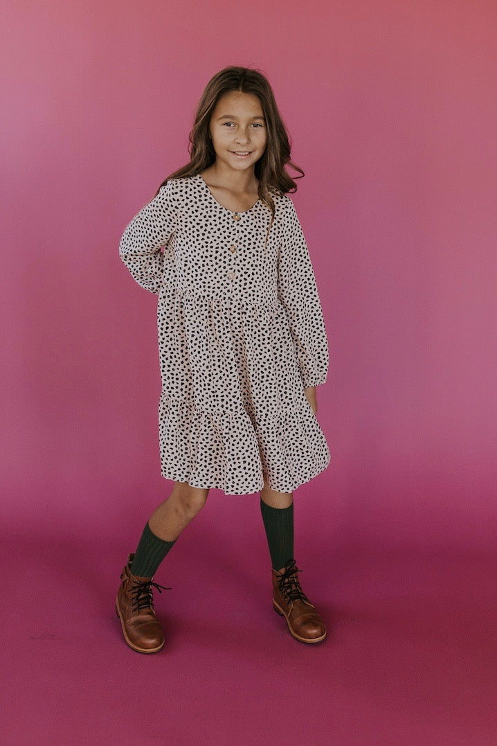 Cute tiered printed girls outfits | ROOLEE