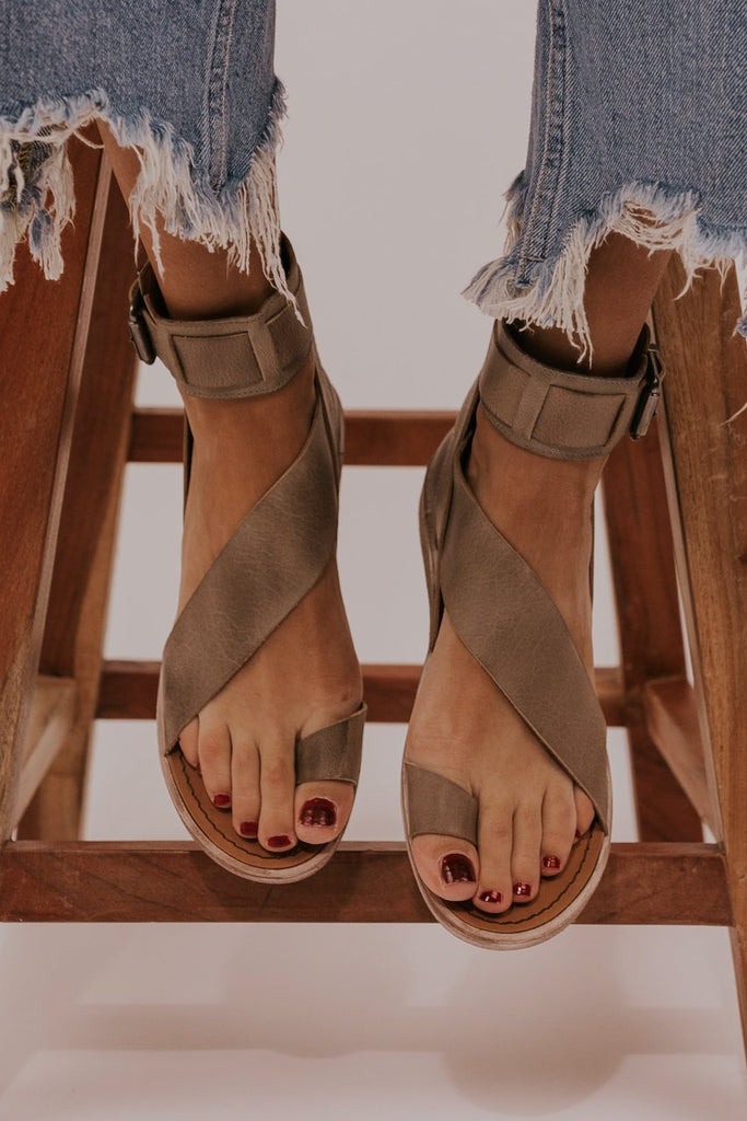 Strappy netural boot sandal | ROOLEE