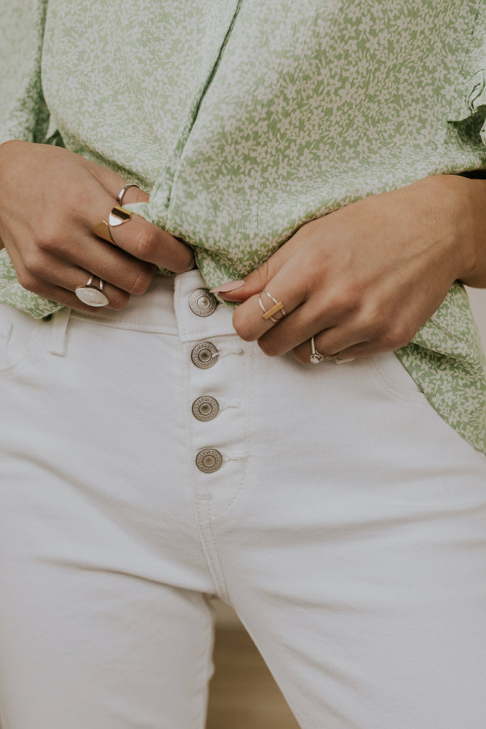 Button Fly Jeans | ROOLEE
