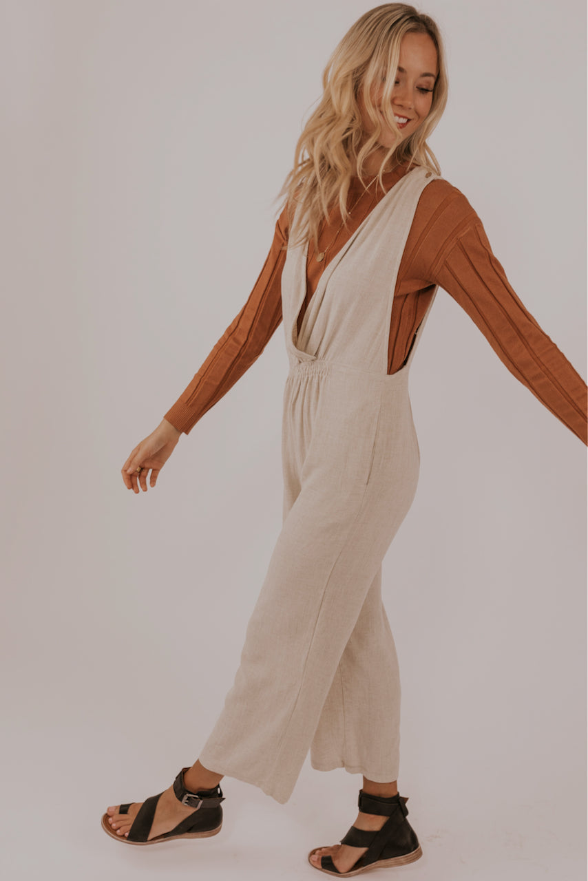 Neutral spring jumpsuits | ROOLEE