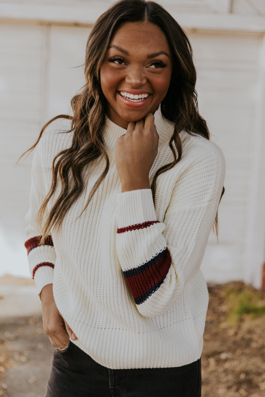 Cozy Long Sleeve Sweater | ROOLEE