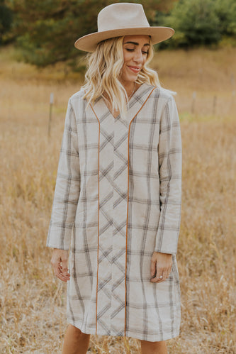 Plaid mom dresses | ROOLEE