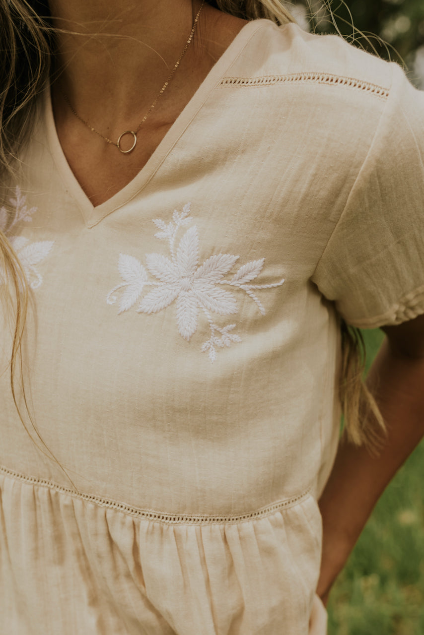 Light and flowing embroidered blouses | ROOLEE