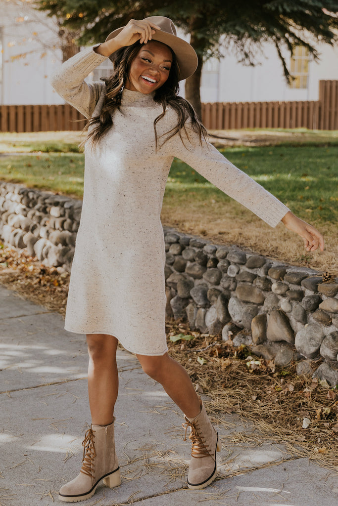 Dresses you can layer for winter | ROOLEE