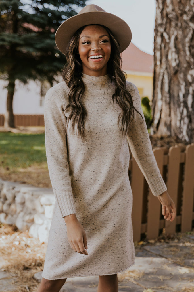 Speckled Sweater Dresses | ROOLEE