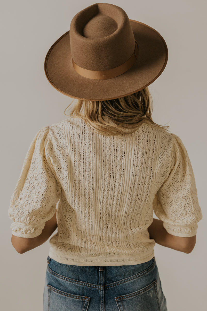 Modest textured blouses | ROOLEE