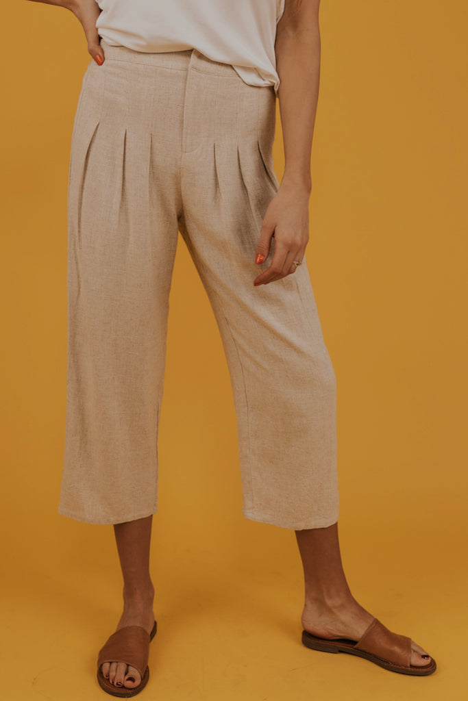 Cropped casual pants | ROOLEE